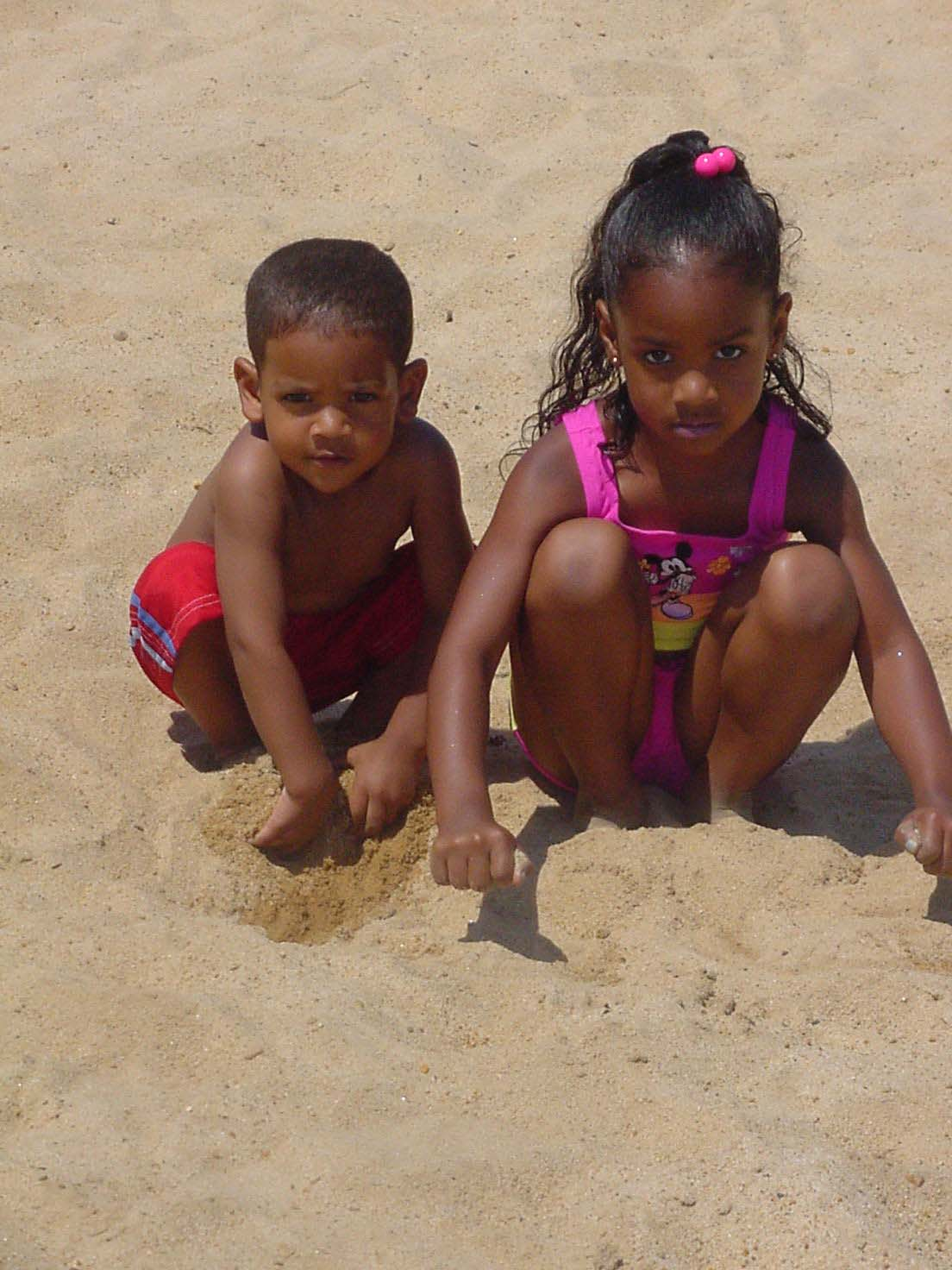 Kaiya and Kaleb Beach